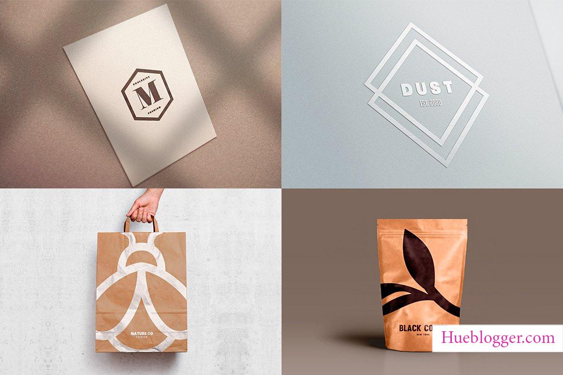 Template thiết kế logo cho designer