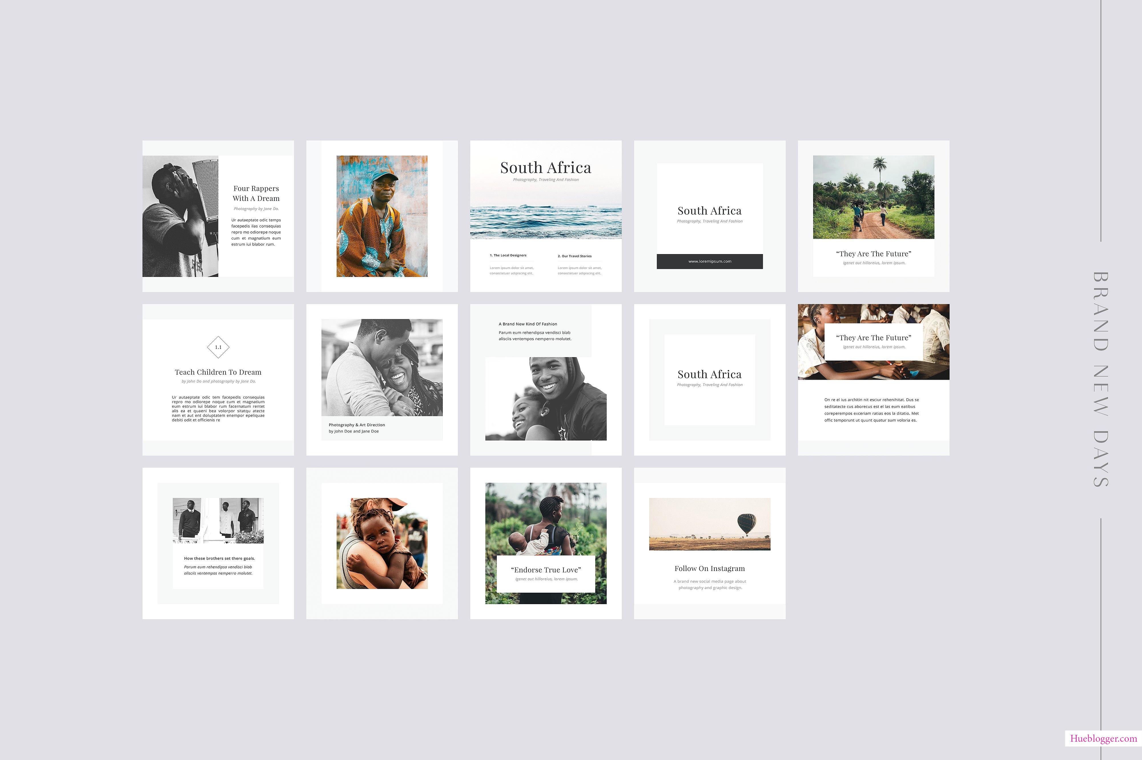 Bộ PSD Social Media Pack dành cho designer chuyên nghiệp