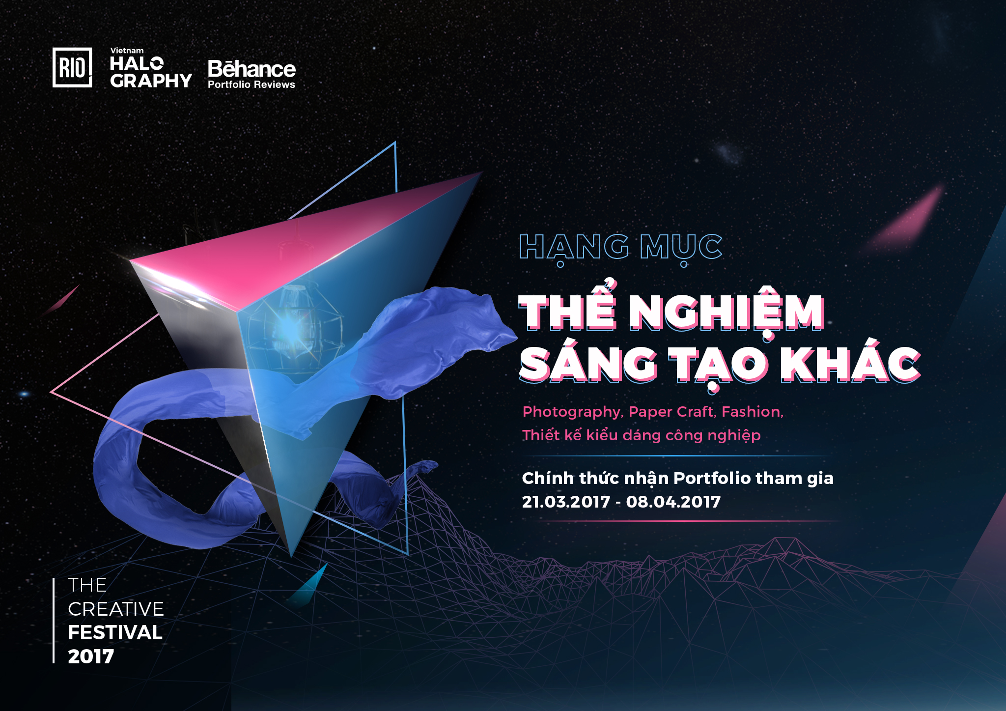 Cuộc thi Behance Portfolio Reviews Vietnam 2017