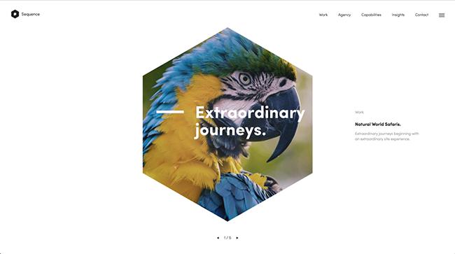 10 Xu hướng thiết kế website năm 2017
