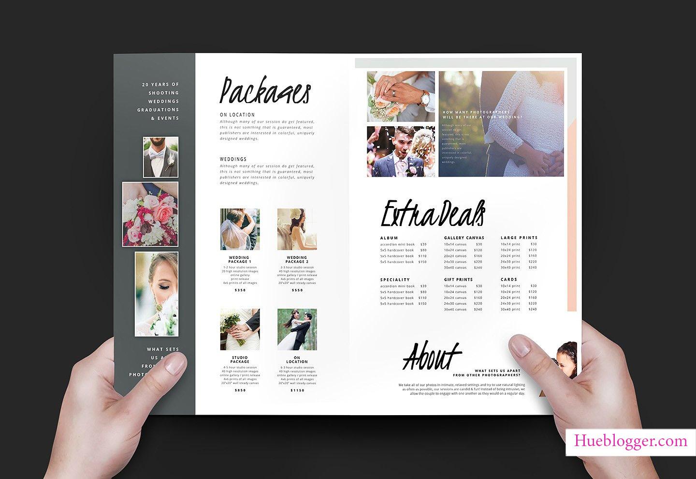 Bộ template thiết kế ảnh cưới tuyệt đẹp