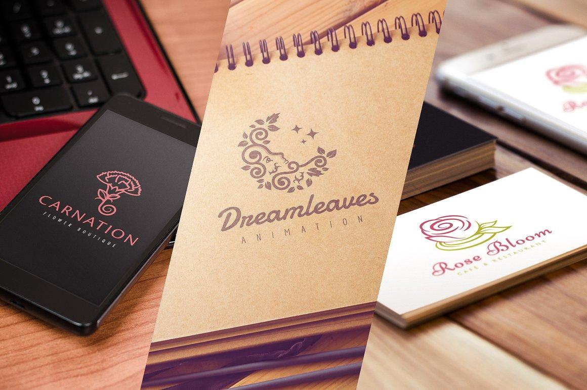 15 Mẫu Logo thiết kế thời trang tuyệt đẹp