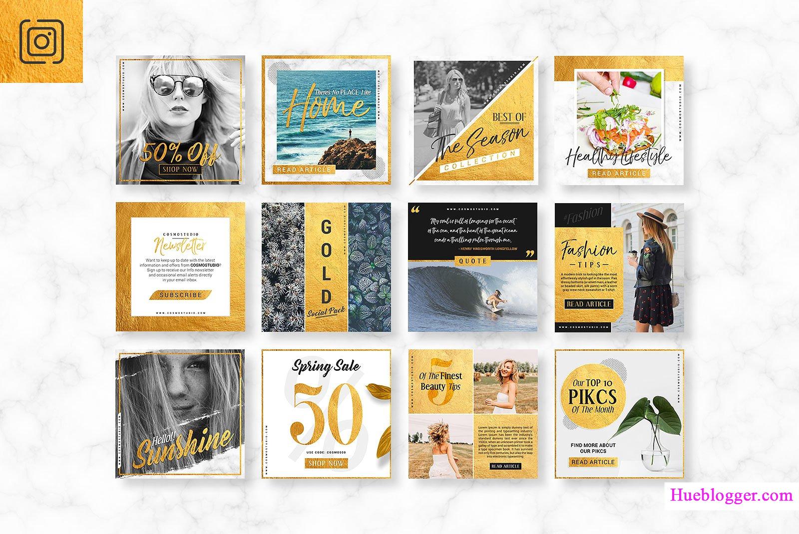 Bộ PSD Template thiết kế banner quảng cáo
