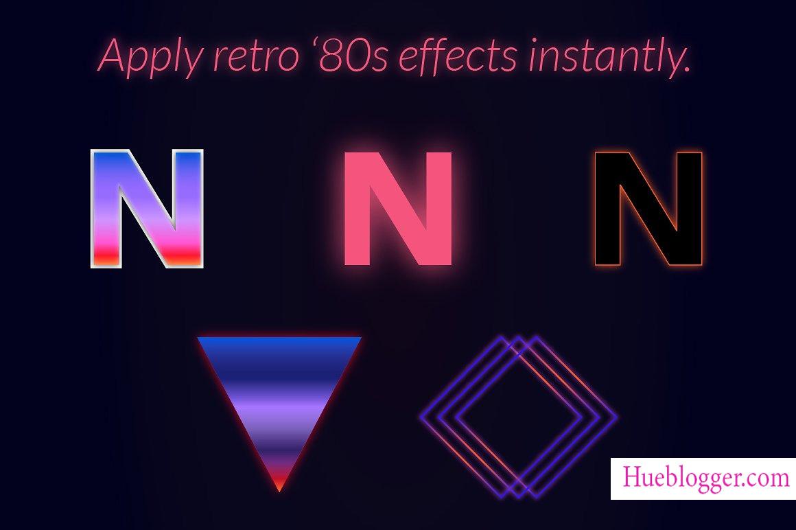 80s Instant dành cho Illustrator