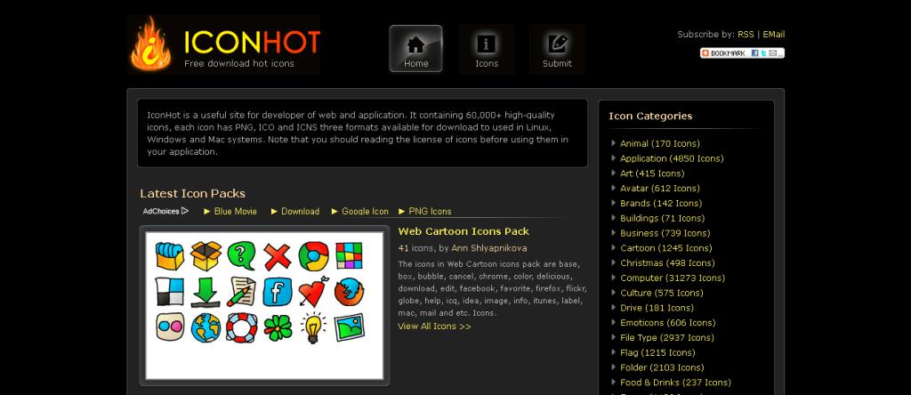 Top 14 Website miễn phí Icon dành cho designer
