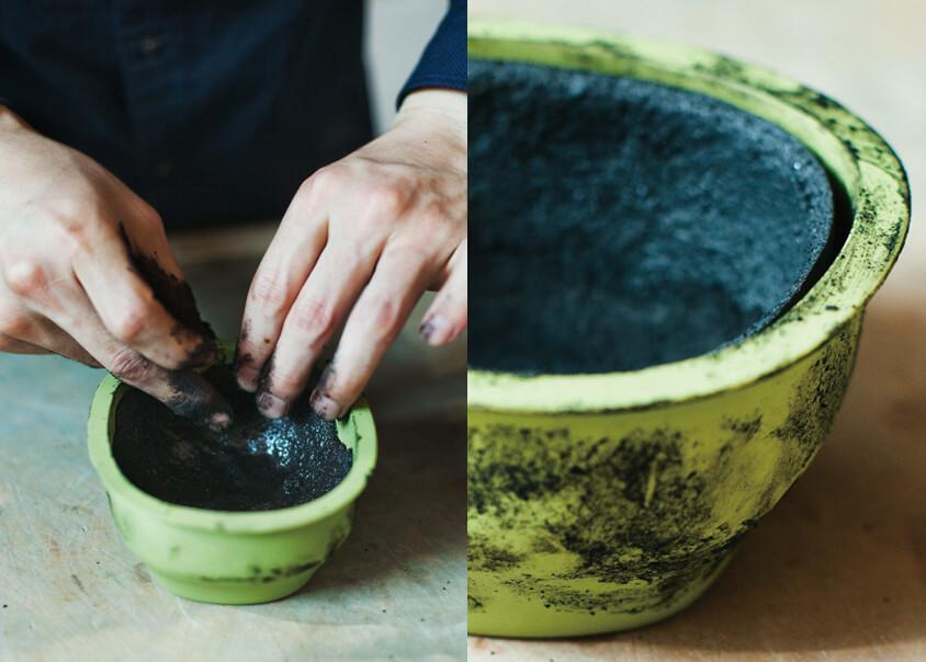 Từ rác thực phẩm thừa thành bộ đồ ăn sáng tạo của Kosuke Araki Từ rác thực phẩm thừa thành bộ đồ ăn sáng tạo của Kosuke Araki