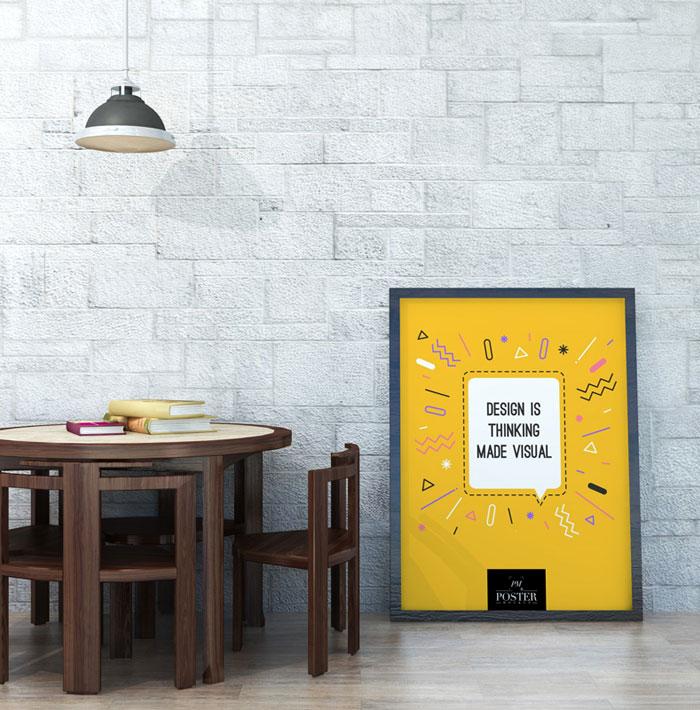 10 mẫu Mockup thiết kế Poster miễn phí dành cho bạn