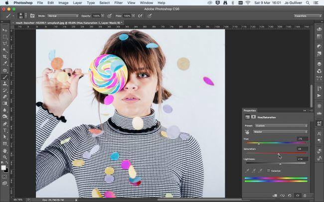 Hướng dẫn bạn sử dụng công cụ thay đổi màu sắc trong Photoshop