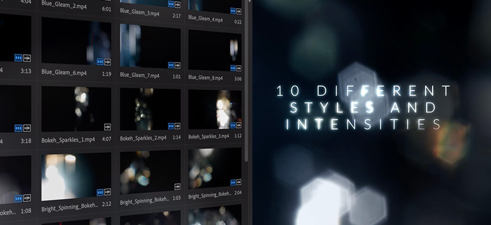 35 Overlays hiệu ứng lăng kính miễn phí