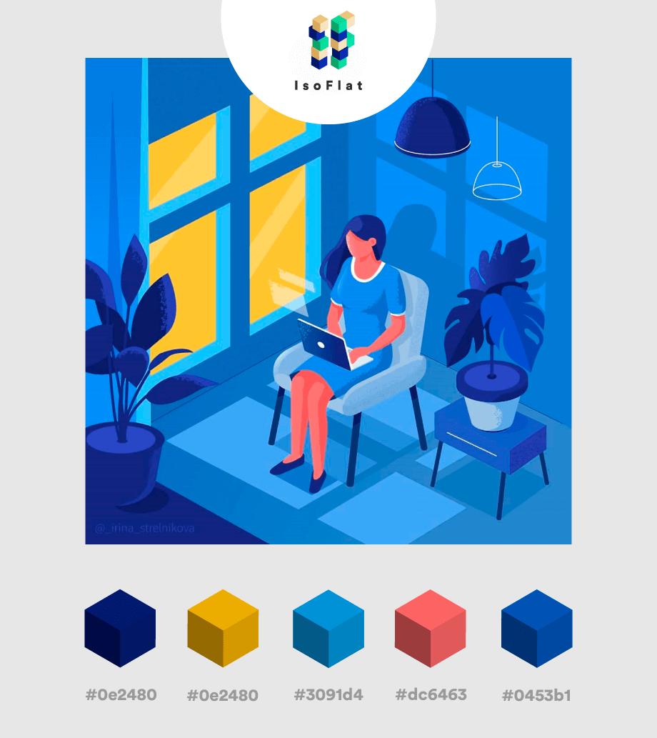 Hướng dẫn cách phối màu hoàn hảo dành cho designer