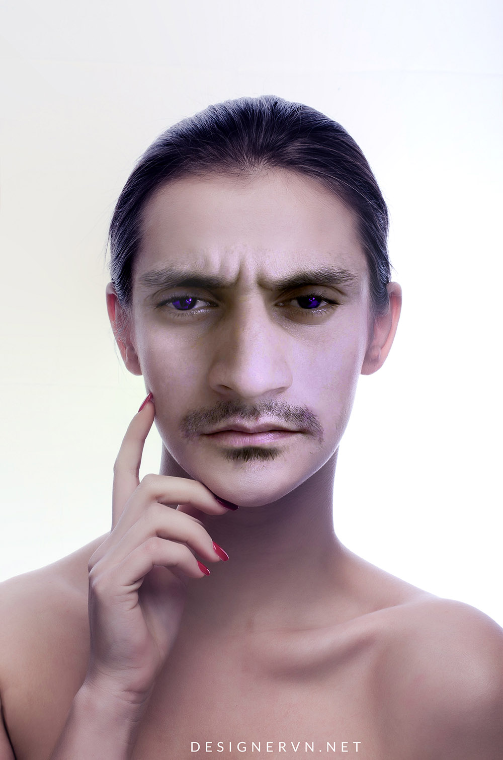 Hướng dẫn cắt ghép mặt trong Photoshop