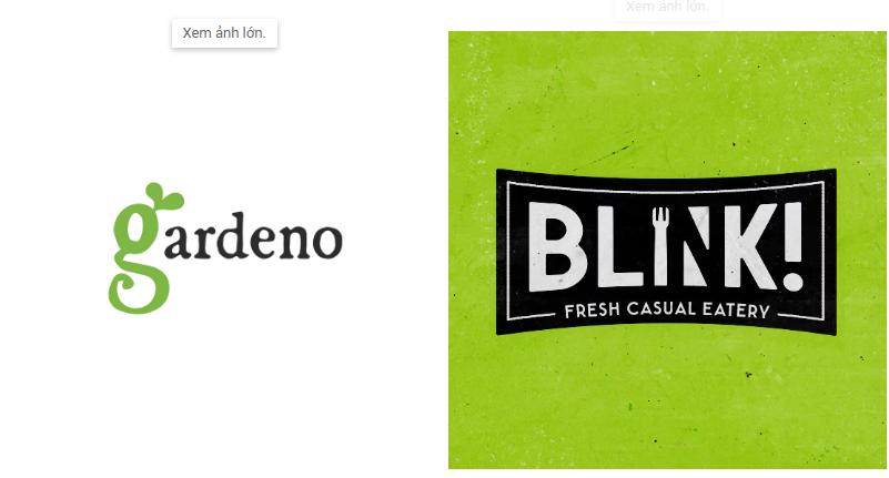 20+ ý tưởng thiết kế logo màu xanh lá cây