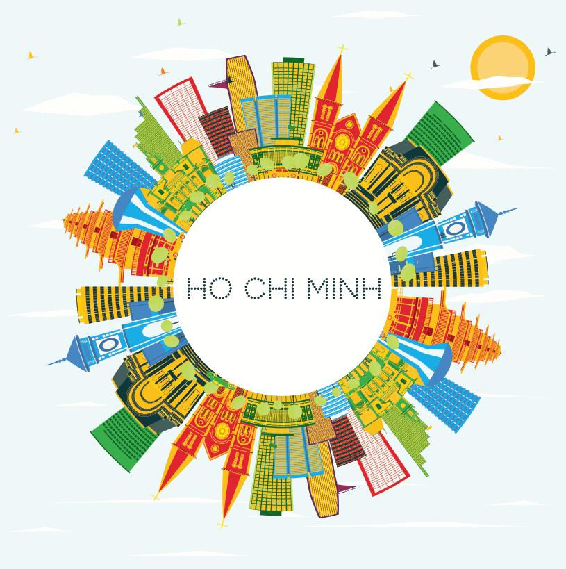 Vector thành phố Hồ Chí Minh Free