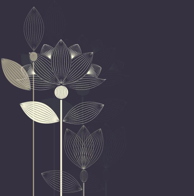 Vector hoa sen free tuyệt đẹp