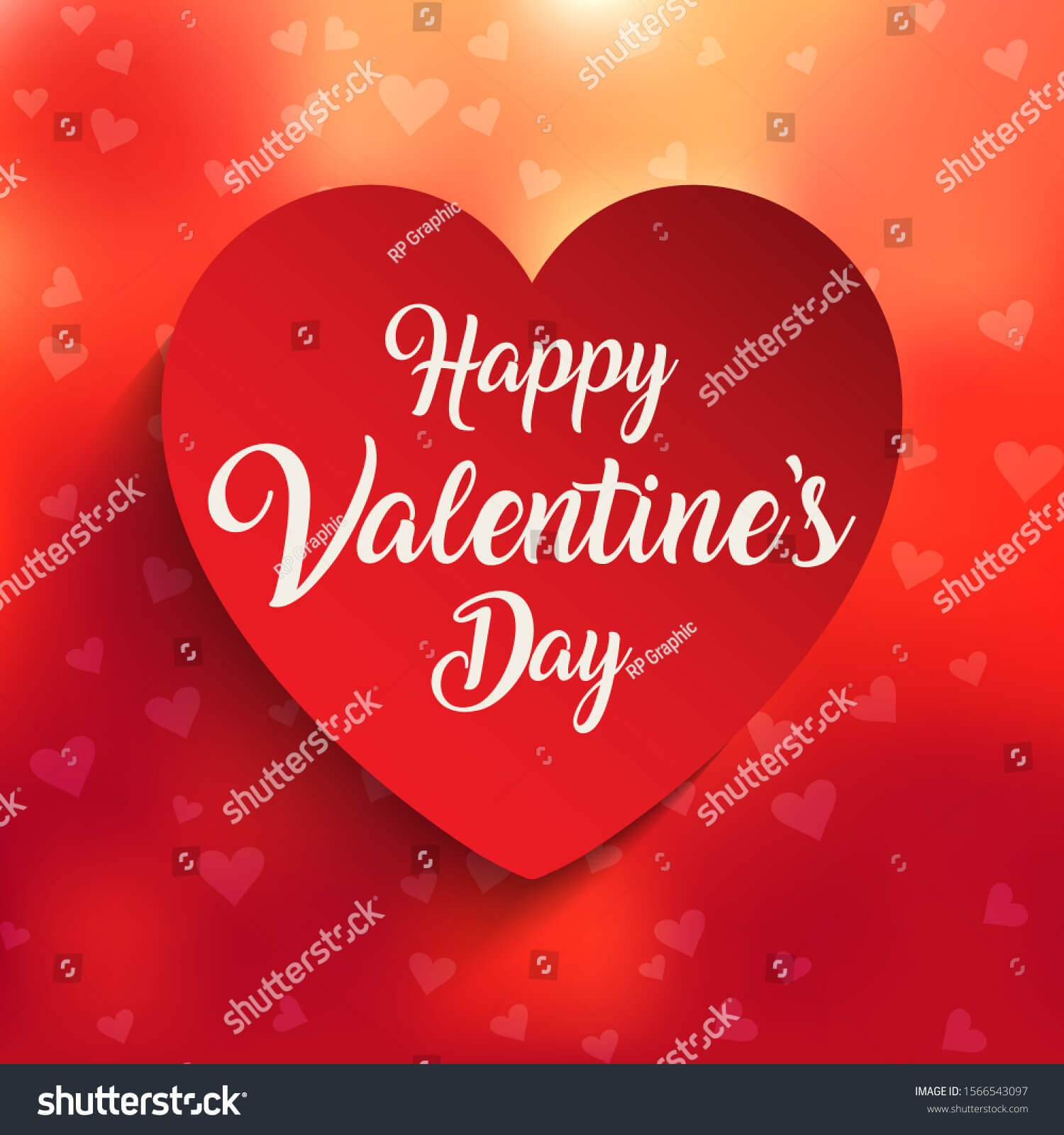 Background Happy Valentine Day trên Shutterstock
