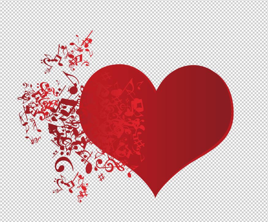 PNG trái tim âm nhạc trên Pngtree - H8