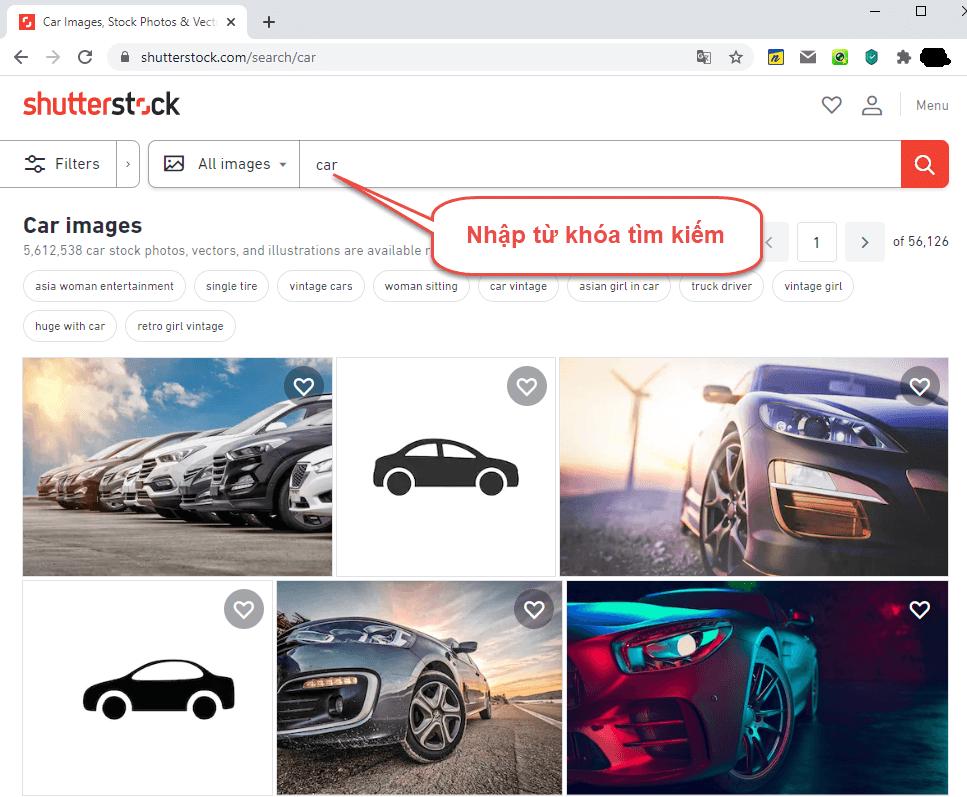 Download ảnh Shutterstock chất lượng cao tại Hueblogger