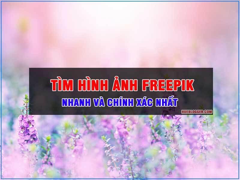 Tìm hình ảnh Freepik nhanh và chuẩn xác bạn cần biết